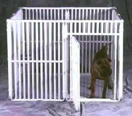 PVC Dog Crate Door