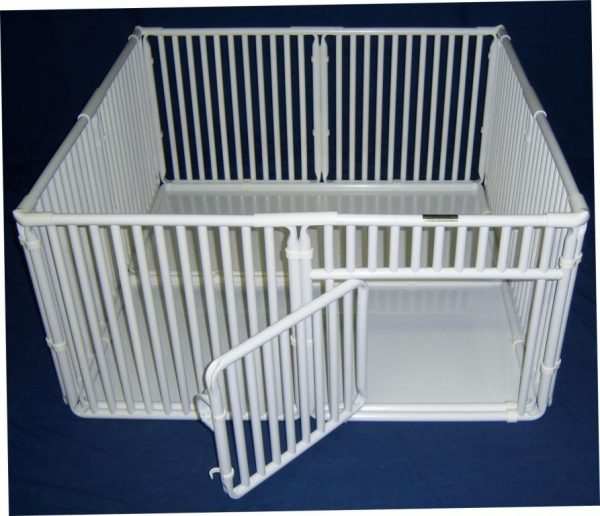 "4' x 4' Roverpet Pet Cage 24"" Tall"