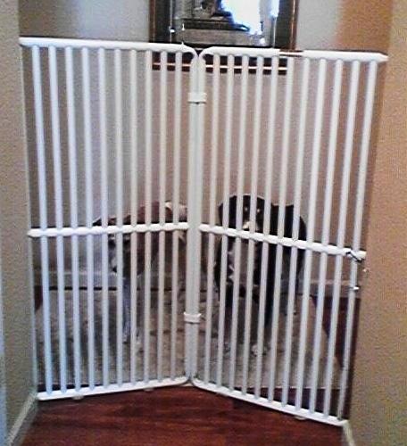 tall dog gates with cat door