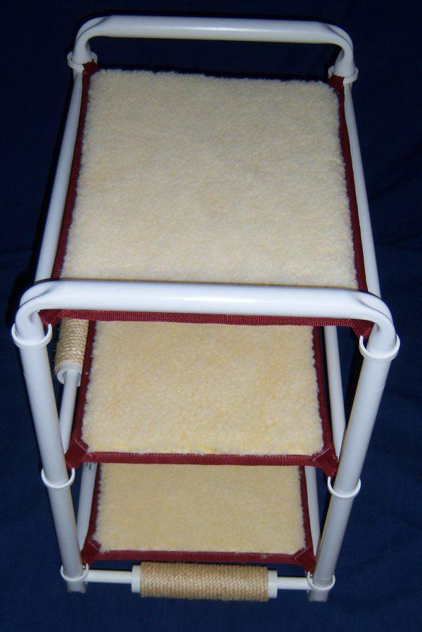 three level cat hammock