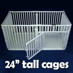 "24"" Tall Indoor Pet Cages"