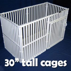 "30"" Tall Plastic Pet Cages"