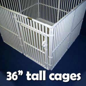 "36"" Tall Pet Cages"