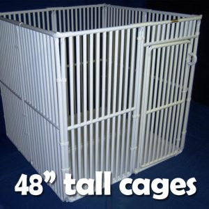 "48"" Tall Pet Cages"