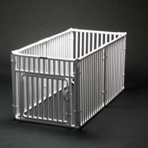 "2' x 4' Roverpet Pet Cage 24"" Tall"
