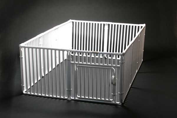 """4' x 6' Roverpet Pet Cage 24"""" Tall"""