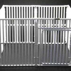 "4' x 4' Roverpet Pet Cage 30"" Tall"