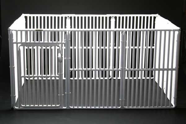 """4' x 6' Roverpet Pet Cage 36"""" Tall"""