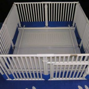 "Whelping Box 18"" high x 48"" long x 48"" wide"