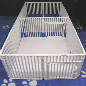 "Whelping Pen 18"" high x 48"" long x 48"" wide"