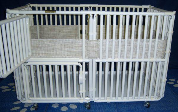 PVC Dog Cage