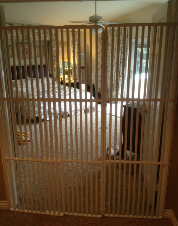 Worlds Tallest Pet Gate