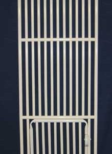 "Roverpet Cat Cage Door : 72"" high x 24"" wide"