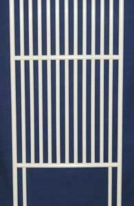 """Roverpet Sealed Cat Condo Door Frame Only : 72"""" high x 24"""" wide"""