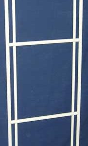"Roverpet Sealed Cat Cage Triple Door Frame Only : 72"" high x 24"" wide"