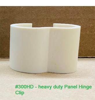 Heavy Duty Panel Hinge Clip