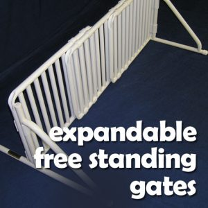 Freestanding Expandable Gates