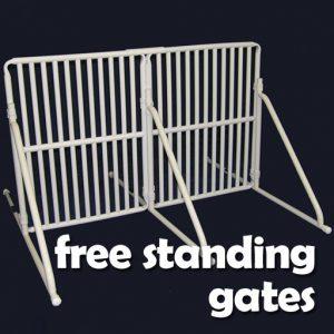 Free-Standing Gates