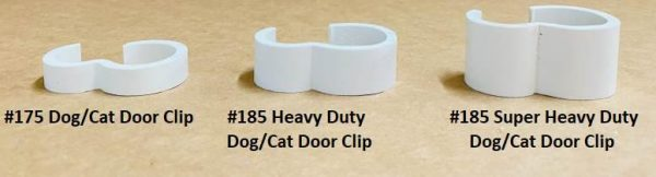 Pet Cage Door Clip