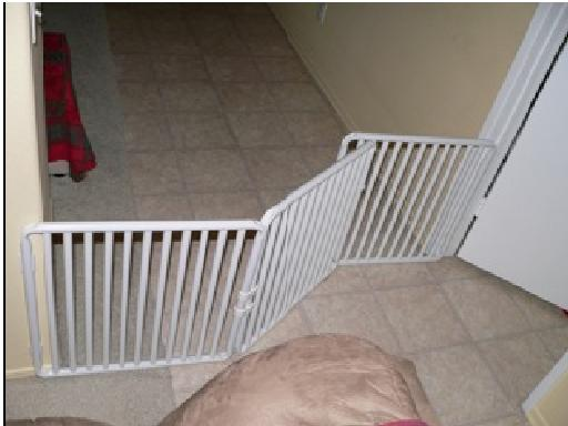 Kitten Gate Extension