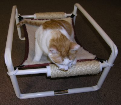 Cat Bed Cross Bar